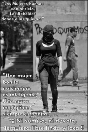 anarquia mulher