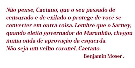 carta a Caetano