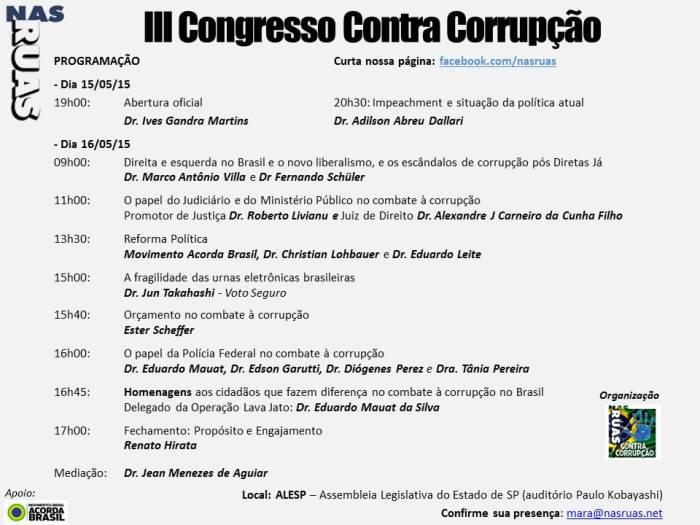 III Congresso Contra Corrupção v15